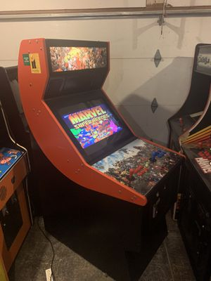 Just built arcade game plays all the classics from the 80s and 90s Pac-Man ,Galaga,mortal KOMBAT ,Simpsons 1299 games for Sale in Glenview, IL