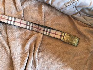 Burberry belt for Sale in Cincinnati, OH