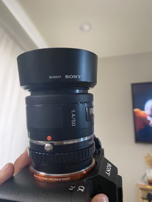 Sony 50mm f1.4 for Sale in Seminole, TX