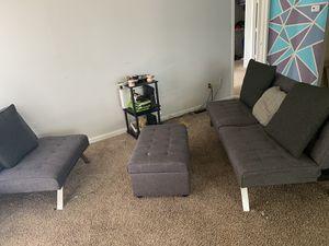 Couch/Futon set for Sale in Murfreesboro, TN