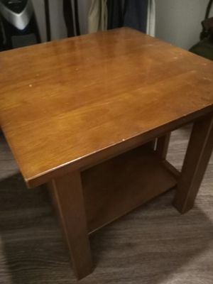 Wooden end table for Sale in Denver, CO