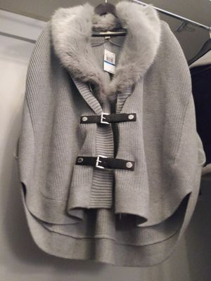 Michael Kors Cardigan with the Fur for Sale in San Francisco, CA