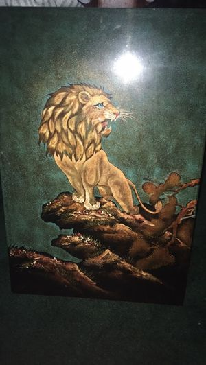 Lion picture for Sale in Grosse Pointe Park, MI