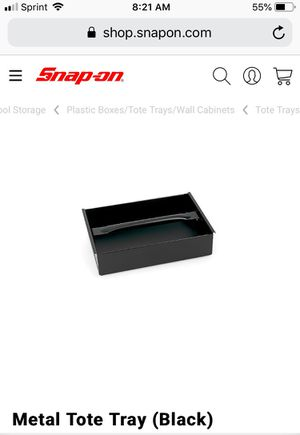 Snap-on metal tool tote tray for Sale in Torrance, CA