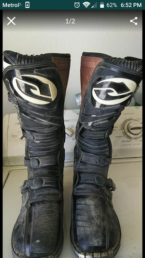 Motorcycle Boots Size 11 for Sale in Apple Valley, CA