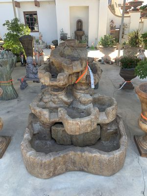 Rock falls fountain for $1,550 call Ed's self haul at 688-0086 for Sale in Tulare, CA