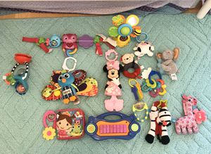 Baby toys perfect condition everything $12 for Sale in Lauderhill, FL