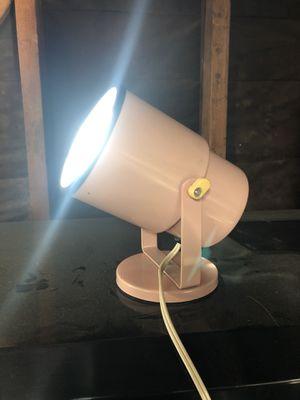 Vintage Pink Underwriters Lab Lamp Spotlight for Sale in La Habra, CA