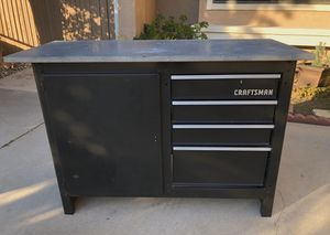 Craftsman Metal Workbench with Drawers for Sale in Corona, CA