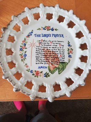 Plate for Sale in Hesperia, CA