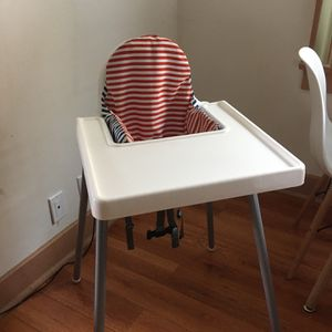 Ikea Antilop High Chair w/ Tray and Cushion for Sale in Los Angeles, CA