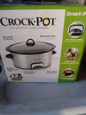 Crock Pot Smart-Pot 4-Quart Digital Slow Cooker for Sale in Riverside, CA