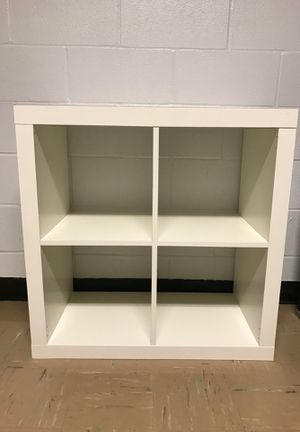 TWO White (4-Cubbies) Shelf! for Sale in New Market, MD