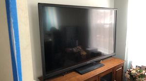 70 in tv with stand for Sale in Geneva, OH