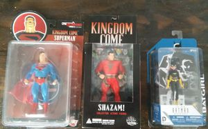 Action figures. Superman, Shazam and Batgirl new unopened for Sale in San Diego, CA