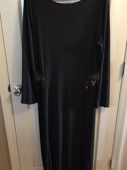 Long black dress with lace sides and back smoke-free pet free home for Sale in Imperial,  MO