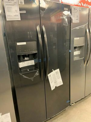 New Frigidaire Black Stainless Refrigerator Counter Depth 1yr Manufacturers Warranty for Sale in Chandler, AZ
