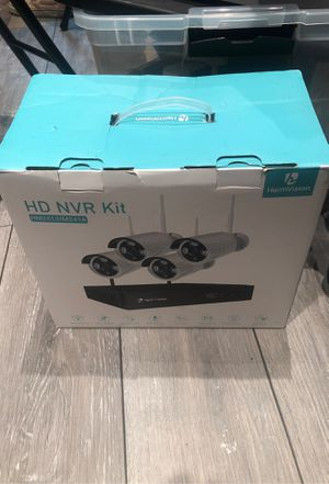 hd nvr camera kit for house or commercial security cameras brand new for Sale in Plainfield, IL