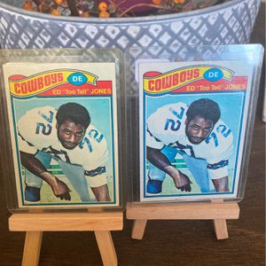 "1977 Topps #314 ED ""TOO TALL"" JONES DALLAS COWBOYS HOF~ for Sale in Virginia Beach, VA"