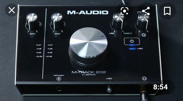 M-AUDIO M -Track interface 2x2