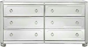 Brand new MIRRORED SIMPLICITY 6 drawer chest for Sale in San Francisco, CA