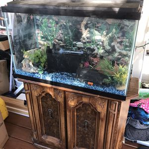 Fish Aquarium With Stand for Sale in Woodbridge, VA