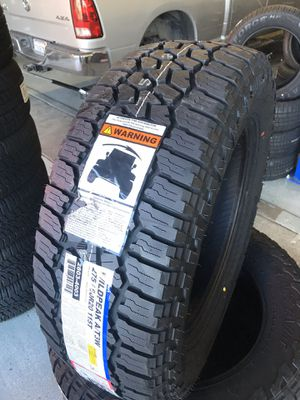 275/60/20 New set of Falken AT tires installed for Sale in Rancho Cucamonga, CA