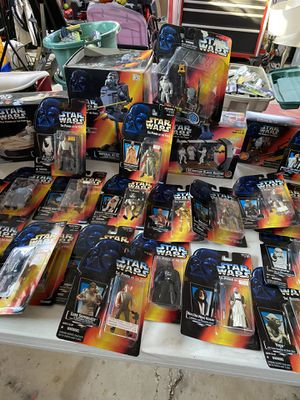 Star Wars power of the force sealed action figures for Sale in Mount Prospect, IL