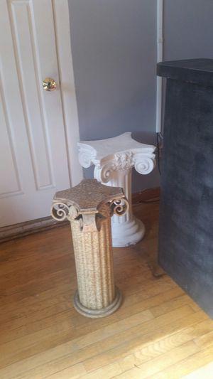 White Pedestal for Sale in Washington, DC