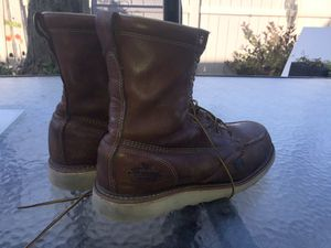 """Thorogood 8"""" heritage boots slightly used for Sale in Wood Dale, IL"""