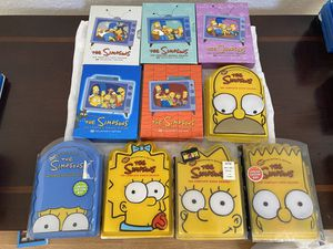 The Simpsons DVD Used Seasons 1-10 for Sale in Fresno, CA