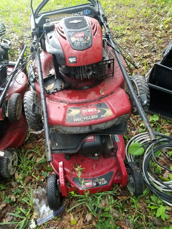 Lawn Mower Weed Eater And Blower All Four Parts Some Easy