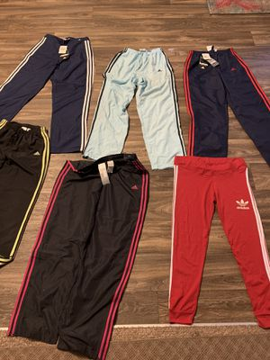 Six Adidas pants for $ 70.04 size Small and two size M for Sale in Woodstock, GA