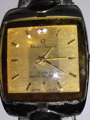 Charles Raymond Quartz wrist watch for Sale in Pleasant Hill, IA