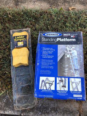 Standing plataform for ladders for Sale in Woodbridge, VA