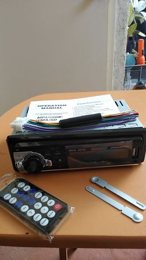 BRAND NEW MP3, AM/FM CAR AUDIO WITH VUILT IN USB for Sale in Phoenix, AZ
