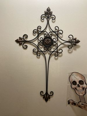 Iron Decorative Cross for Sale in Medford, OR