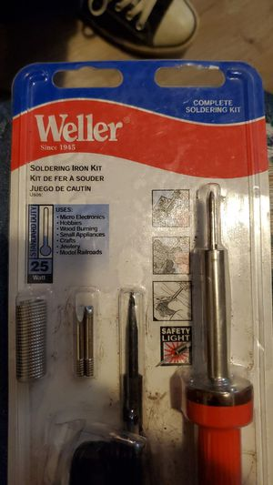 Weller Soldering Gun Iron Kit for Sale in Channelview, TX