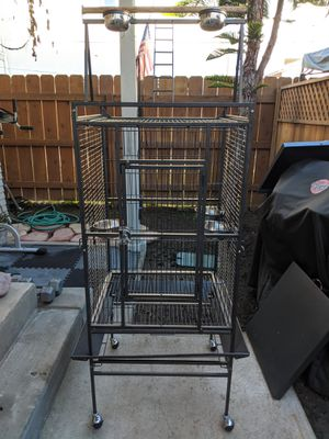 Large standing bird cage for Sale in San Diego, CA
