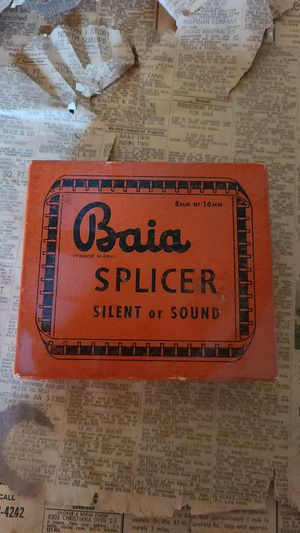 Vintage Baia Film Splicer Silent or Sound 8mm or 16mm for Sale in Chicago, IL