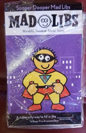 MAD LIBS 4 PACK+3 STICKER PADS AND 8 ACTIVITY BOOKS **ALL NEW for Sale in Phoenix, AZ