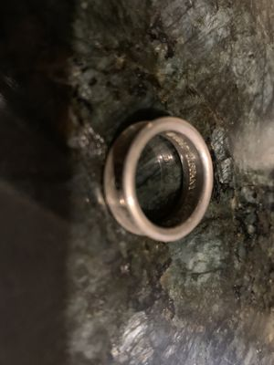 Tiffany&Co. silver ring for Sale in Chandler, AZ