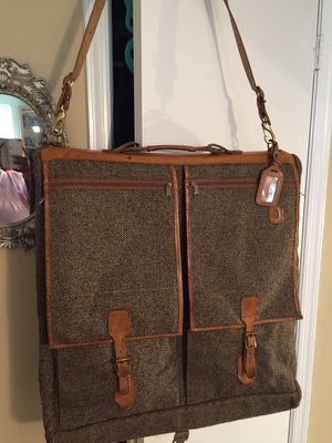 Hartmann Tweed & Leather Garment Bag for Sale in Alexandria, VA