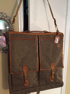 Hartmann Tweed & Leather Garment Bag for Sale in Alexandria, VA