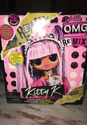 LOL surprise OMG remix kitty K for Sale in Fresno, CA