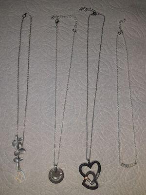 4 necklaces for Sale in Hayward, CA