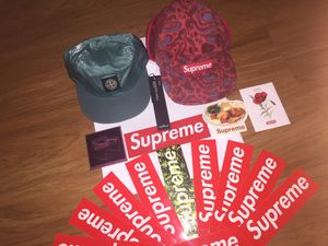 Supreme Hat x Stone Island x Supreme Stickers for Sale in Fort Belvoir, VA