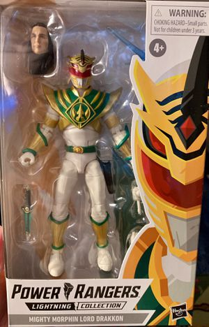 Power Rangers Lightning Collection Lord Drakkon Figure for Sale in Clovis, CA