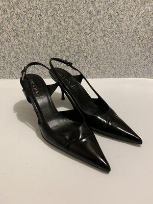 Authentic Prada Heels Sz 37.5 for Sale in Seattle, WA