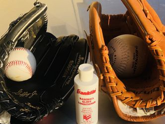 Two Kids Baseball Gloves for Sale in Oceanside,  CA